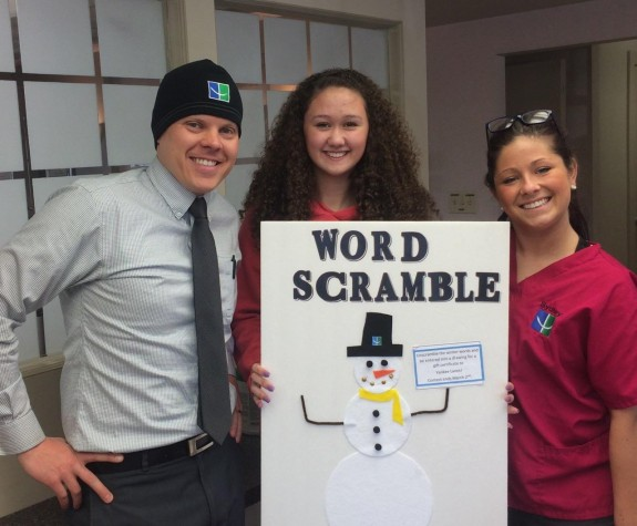 Word Scramble Contest And Office Fun At Keene Orthodontic Specialists Keene  NH